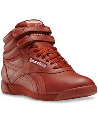 Reebok Freestyle Hi Sneaker - Orange
