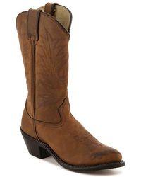 Durango Classic Cowboy Boot - Brown