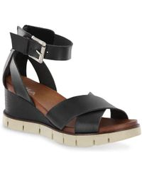MIA Lauri Wedge Sandal - Black