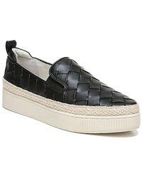 Franco Sarto Hydee Espadrille Platform Sneaker - Black