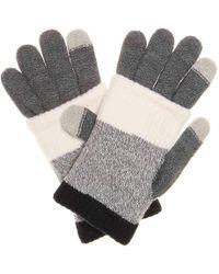 Steve Madden - Multi Stripe Touch Screen Gloves - Lyst