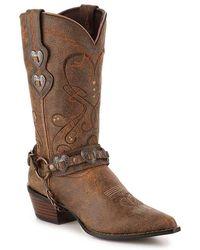 Durango Heartbreaker Cowboy Boot - Brown