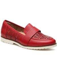 Earth Masio Loafer - Red