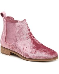 TOMS Ella Chelsea Boot - Pink