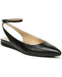 Naturalizer Hamilton Medium/wide Flat Shoes - Black