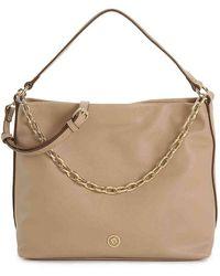 Anne Klein Soft Hobo Bag - Natural