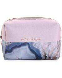 MYTAGALONGS You're A Gem Cosmetic Bag - Purple