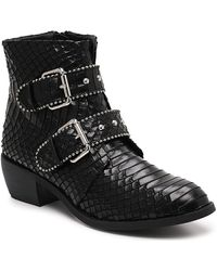 Wanted Jungle Bootie - Black