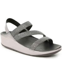 Fitflop - Crystall Wedge Sandal - Lyst