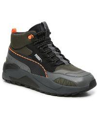 PUMA X-ray 2 High-top Sneaker - Black