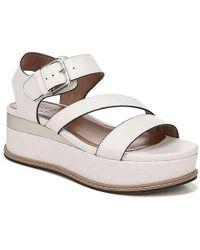Naturalizer Fitz Wedge Sandal - White