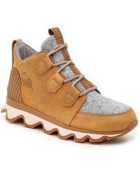 Sorel Kinetic Caribou Snow Boot - Brown
