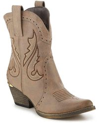 Very Volatile Maker Cowboy Boot - Brown