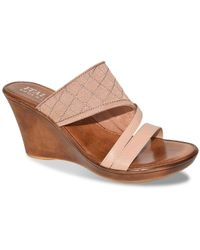 Italian Shoemakers - Tiia Wedge Sandal - Lyst