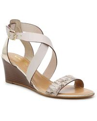 Coach and Four Genoa Wedge Sandal - Multicolor