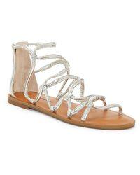 Lucky Brand Anisha Gladiator Sandal - Metallic
