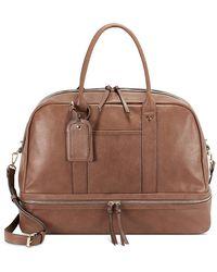 Sole Society Mason Weekender Bag - Brown