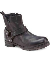 Vintage Foundry Co. Morgan Motorcycle Boot - Black