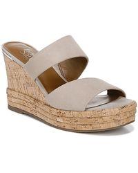 Franco Sarto Fiore Wedge Sandal - Natural