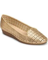 A2 By Aerosoles Parchment Wedge Slip-on - Metallic