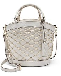 Sole Society Jubah Bucket Bag - White