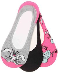Betsey Johnson - Bunny No Show Liners - Lyst