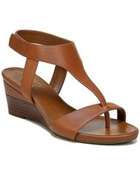 Franco Sarto Dori Wedge Sandal - Brown