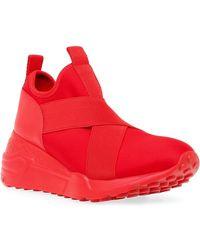 Steve Madden Cryme Slip-on Sneaker - Red