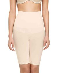 Yummie By Heather Thomson - Inshapes Harlo Mid Waist Shaping Shorts - Lyst
