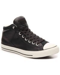 Converse - Chuck Taylor All Star Street Leather High-top Sneaker - Lyst