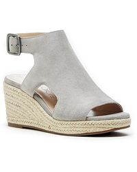Sole Society Camreigh Espadrille Wedge - Gray