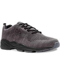Propet Stability Fly Walking Shoe - Gray