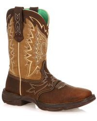Durango Love Fly Cowboy Boot - Brown