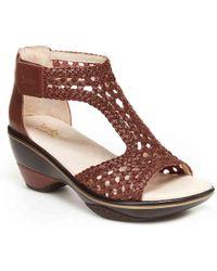 Jambu Sandy Platform Sandal - Brown