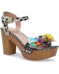 Betsey Johnson Nashla Platform Sandal - Multicolor