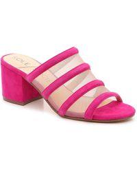 Sole Society Henna Sandal - Pink