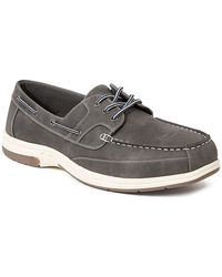 Deer Stags Mitch Boat Shoe - Gray