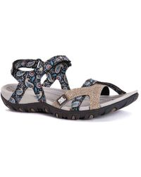 4dca2f5709d6 Lyst - Kenneth Cole Gentle Souls By Kenneth Cole Ophelia Sandal - Grey