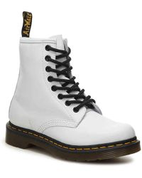 Dr. Martens 1460 8 Eye Boots - White