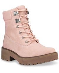 Timberland Carnaby Cool Combat Boot - Pink