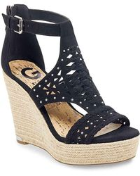 G by Guess | Makayla Wedge Sandal | Lyst