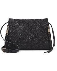 Vince Camuto Zani Leather Crossbody Bag - Black