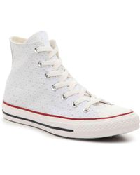 Converse - Chuck Taylor All Start Perforated High-top Sneaker - Lyst