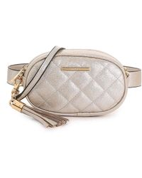 ALDO Pounce Belt Bag - Metallic