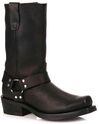 Durango Harness Western Boot - Black