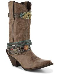 Durango - Accessorized Cowboy Boot - Lyst