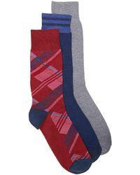 Original Penguin - Argyle Crew Socks - Lyst
