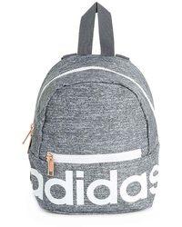 adidas Linear Mini Backpack - Gray