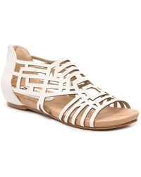 Bellini Nazareth Wedge Sandal - White
