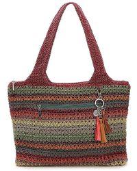 The Sak Crochet Shoulder Bag - Red